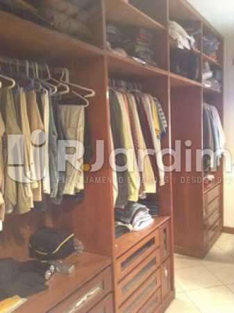 Closet  - Casa Cosme Velho, Zona Sul,Rio de Janeiro, RJ À Venda, 9 Quartos, 633m² - LACA90003 - 20