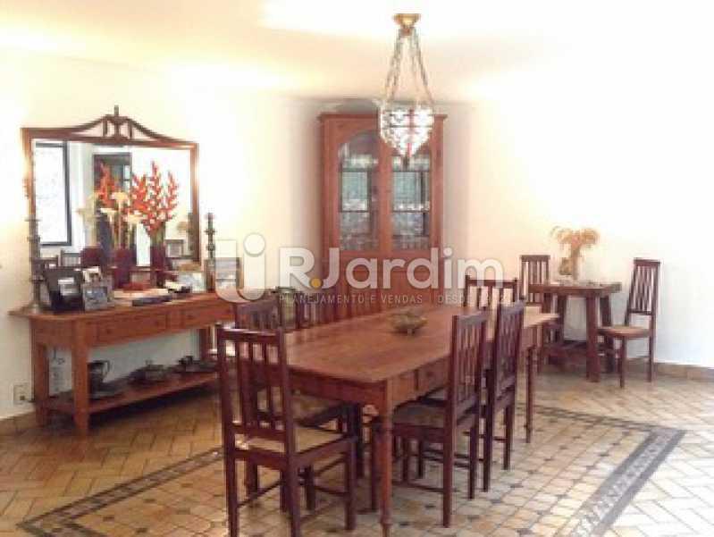 Sala de Jantar  - Casa Cosme Velho, Zona Sul,Rio de Janeiro, RJ À Venda, 9 Quartos, 633m² - LACA90003 - 14