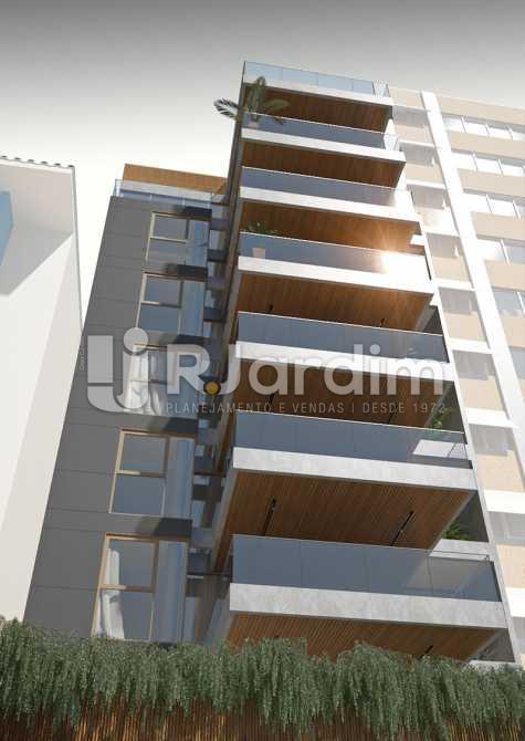 FACHADA - Conde Di Firenza Cobertura Leblon 3 Quartos Lançamento - LACO30107 - 1
