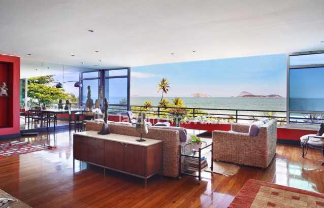 Sala - Apartamento 4 Quartos Ipanema Zona Sul Rio de Janeiro RJ - LAAP40220 - 4