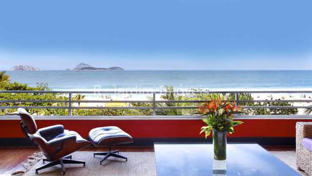 Sala - Apartamento 4 Quartos Ipanema Zona Sul Rio de Janeiro RJ - LAAP40220 - 6