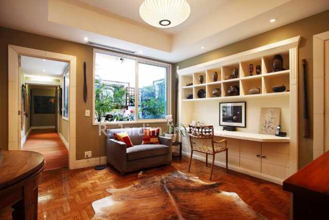 Escritorio  - Apartamento 4 Quartos Ipanema Zona Sul Rio de Janeiro RJ - LAAP40220 - 11