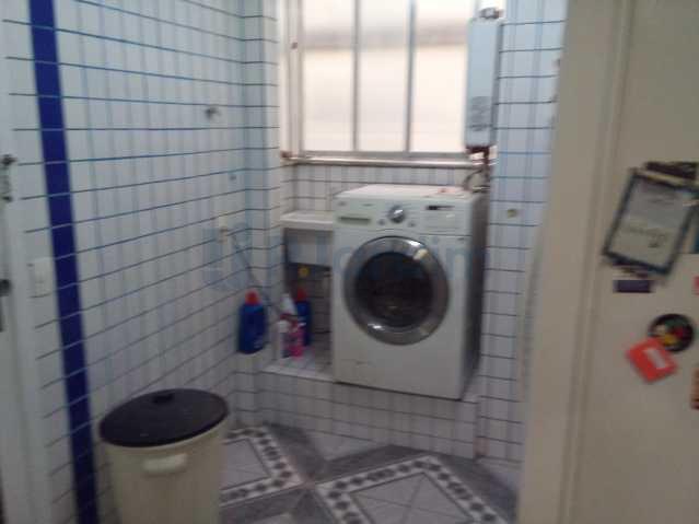 Área de serviço - Apartamento À VENDA, Botafogo, Rio de Janeiro, RJ - LAAP30503 - 23