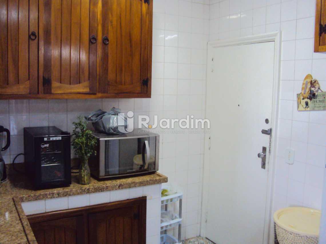 COZINHA  - Apartamento À VENDA, Lagoa, Rio de Janeiro, RJ - LAAP40237 - 22