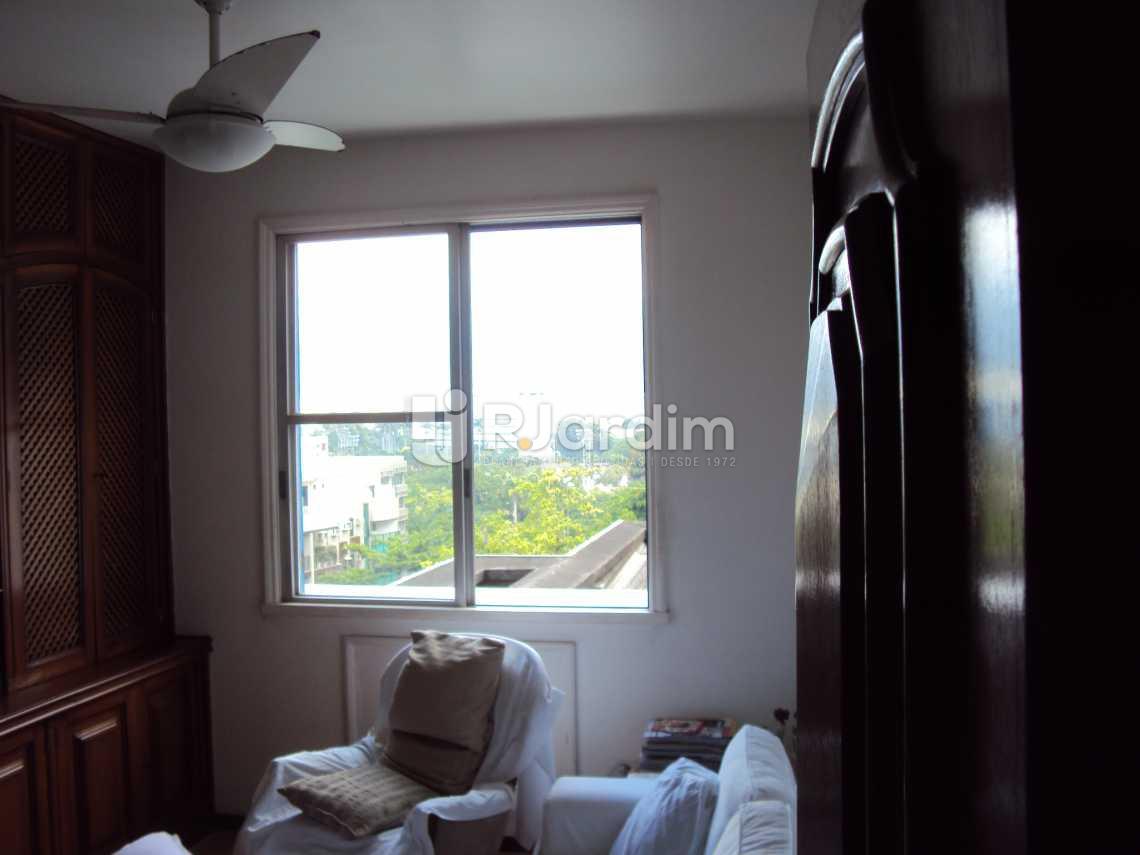 QUARTO  - Apartamento À VENDA, Lagoa, Rio de Janeiro, RJ - LAAP40237 - 17