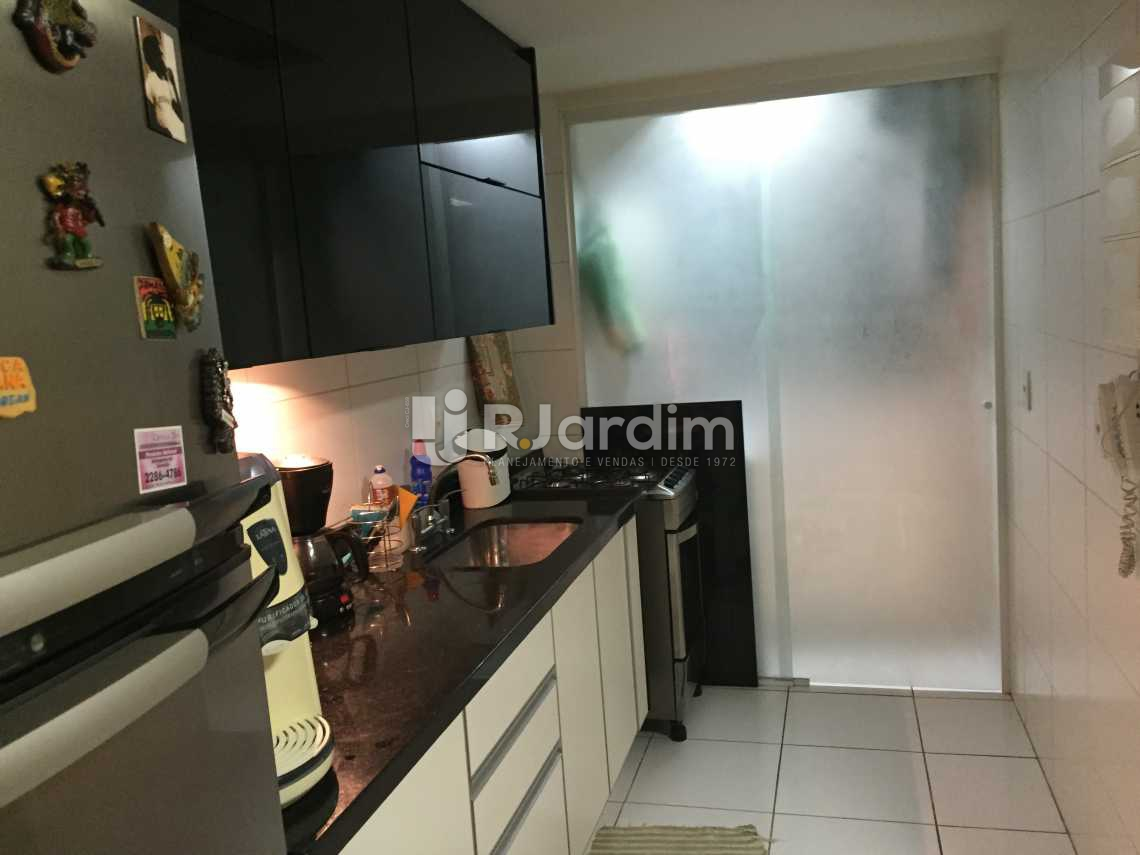 COZINHA  - Apartamento À VENDA, Gávea, Rio de Janeiro, RJ - LAAP20362 - 15