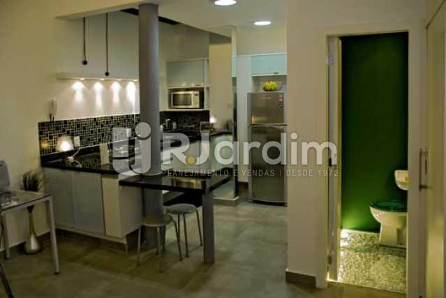 Sala/cozinha/lavabo - Compra Venda Apartamento Ipanema 1 Suíte - LAAP10113 - 1