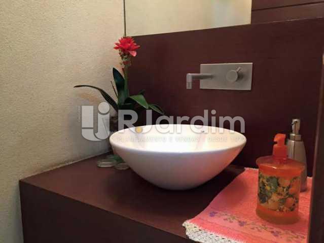 Lavabo  - Apartamento À VENDA, Leblon, Rio de Janeiro, RJ - LAAP40259 - 5