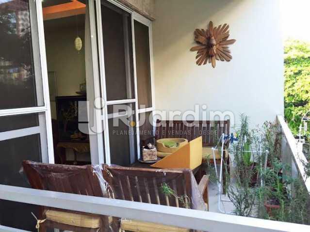 Varanda - Apartamento À VENDA, Leblon, Rio de Janeiro, RJ - LAAP40259 - 4