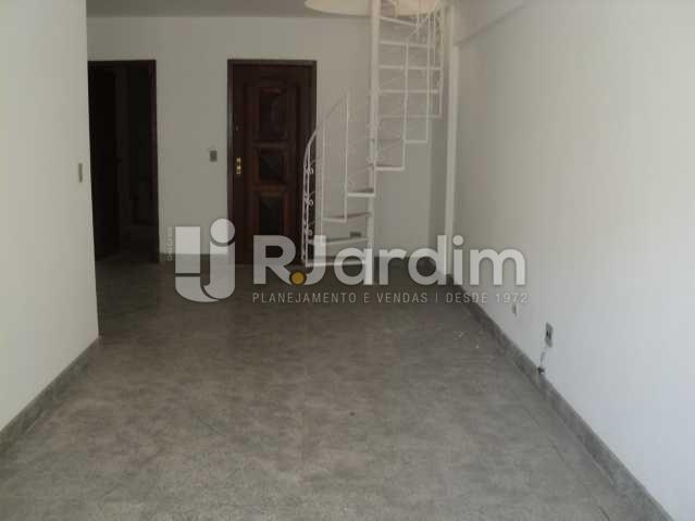 sala 1º piso - Cobertura à venda Rua Pio Correia,Jardim Botânico, Zona Sul,Rio de Janeiro - R$ 2.100.000 - LACO40041 - 4