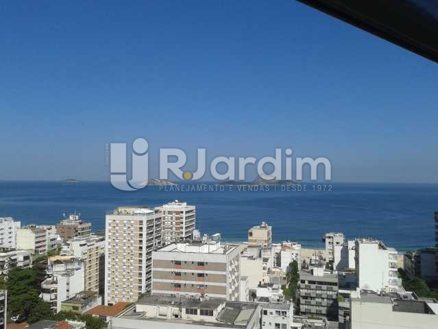 Vista mar - Apartamento PARA ALUGAR, Leblon, Rio de Janeiro, RJ - LAAP10116 - 3