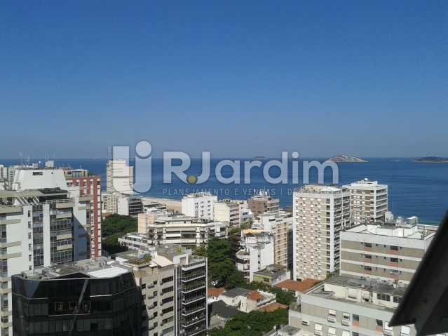 Vista mar - Apartamento PARA ALUGAR, Leblon, Rio de Janeiro, RJ - LAAP10116 - 1