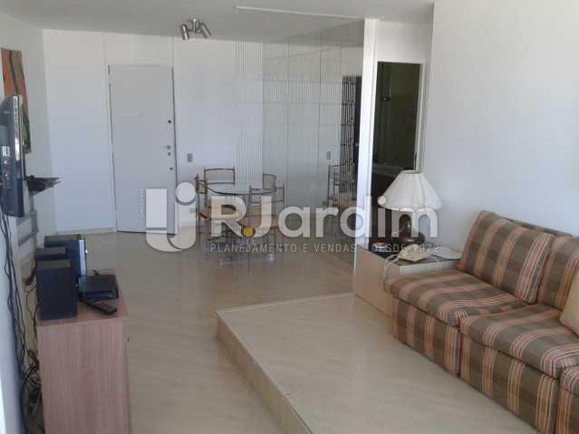 Sala - Apartamento PARA ALUGAR, Leblon, Rio de Janeiro, RJ - LAAP10116 - 5