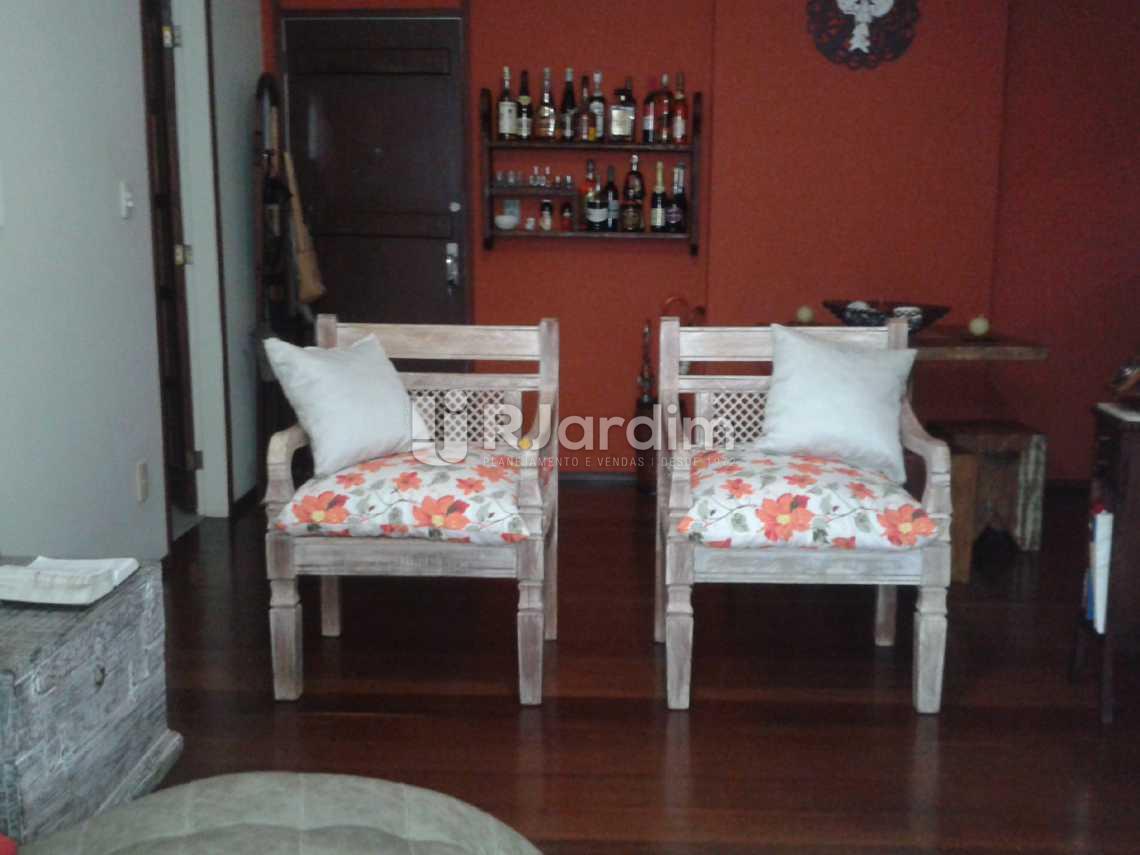 Sala - Apartamento 2 Quartos Humaitá Zona Sul Rio de Janeiro RJ - LAAP20397 - 5