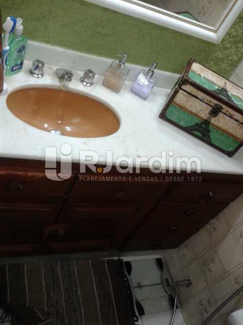 Banheiro - Apartamento 2 Quartos Humaitá Zona Sul Rio de Janeiro RJ - LAAP20397 - 23