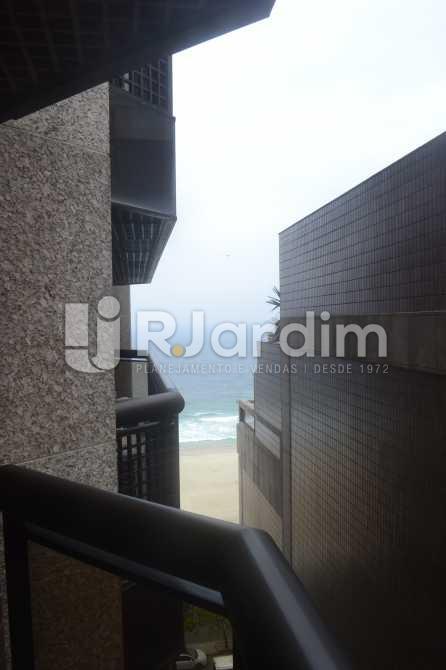 Varanda - Flat para alugar Avenida Vieira Souto,Ipanema, Zona Sul,Rio de Janeiro - R$ 10.000 - LAFL20013 - 6