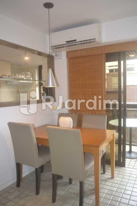 Sala de Jantar - Flat para alugar Avenida Vieira Souto,Ipanema, Zona Sul,Rio de Janeiro - R$ 10.000 - LAFL20013 - 1