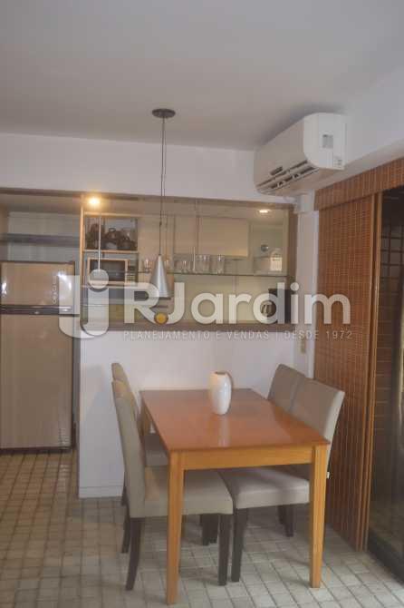 Sala de Jantar - Flat para alugar Avenida Vieira Souto,Ipanema, Zona Sul,Rio de Janeiro - R$ 10.000 - LAFL20013 - 4