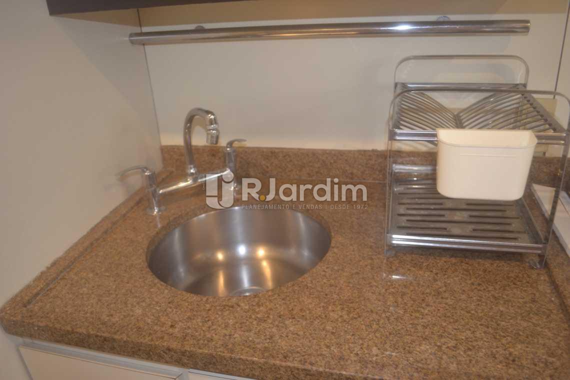 Cozinha - Flat para alugar Avenida Vieira Souto,Ipanema, Zona Sul,Rio de Janeiro - R$ 10.000 - LAFL20013 - 10