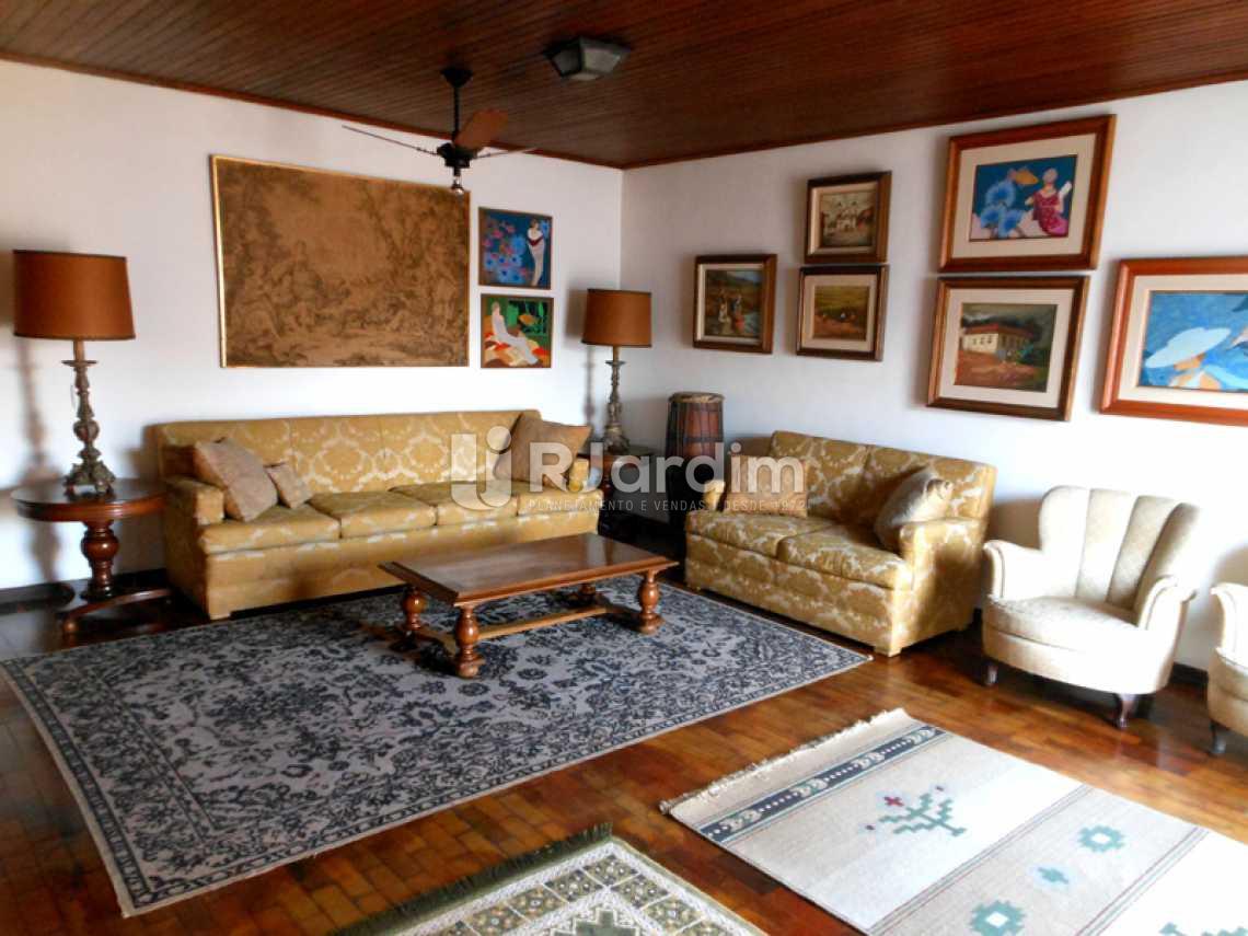 Sala do 2° Piso - Cobertura Leblon, Zona Sul,Rio de Janeiro, RJ À Venda, 3 Quartos, 192m² - LACO30082 - 4