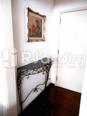 01 - Hall de entrada - Cobertura Leblon, Zona Sul,Rio de Janeiro, RJ À Venda, 3 Quartos, 192m² - LACO30082 - 17