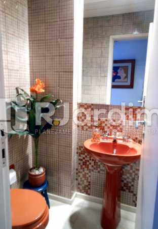 05 - lavabo - Cobertura Leblon, Zona Sul,Rio de Janeiro, RJ À Venda, 3 Quartos, 192m² - LACO30082 - 18