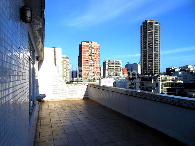 20 - Terraço da cobertura - Cobertura Leblon, Zona Sul,Rio de Janeiro, RJ À Venda, 3 Quartos, 192m² - LACO30082 - 22