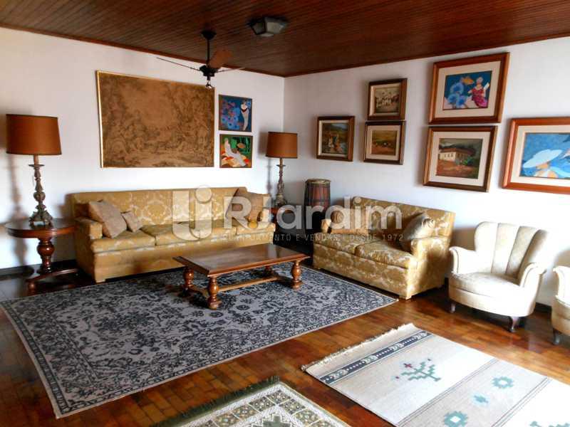 17 - sala da cobertura - Cobertura Leblon, Zona Sul,Rio de Janeiro, RJ À Venda, 3 Quartos, 192m² - LACO30082 - 15