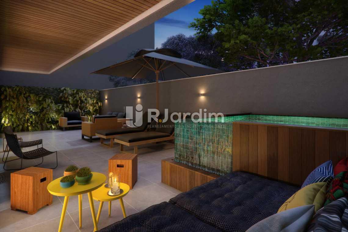 TERRACO SOLARIUM - Lançamento Caravelle Residences 3 Quartos Botafogo Rio de Janeiro RJ - LAAP40280 - 18