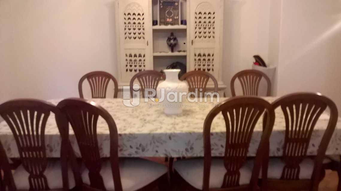 Sala de jantar - Apartamento Copacabana 4 Quartos Compra Venda Avaliação - LAAP40287 - 4