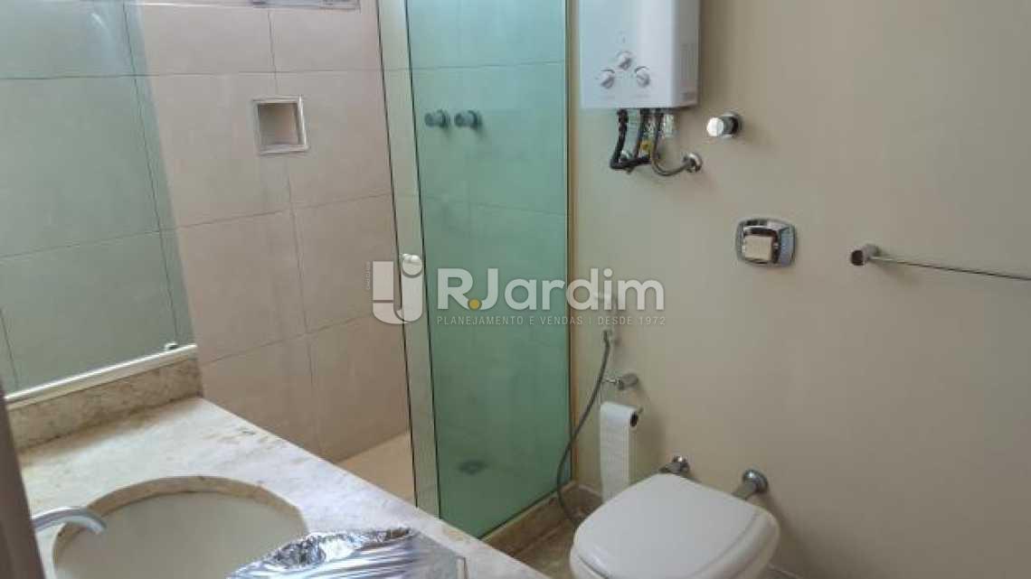 Banheiro Suíte - Apartamento À Venda - Lagoa - Rio de Janeiro - RJ - LAAP30643 - 16