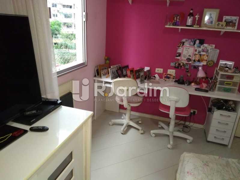 Quarto 1 - Apartamento À Venda - Lagoa - Rio de Janeiro - RJ - LAAP30643 - 9