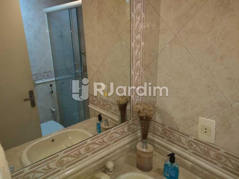 Banheiro Social - Apartamento À Venda - Lagoa - Rio de Janeiro - RJ - LAAP30643 - 20