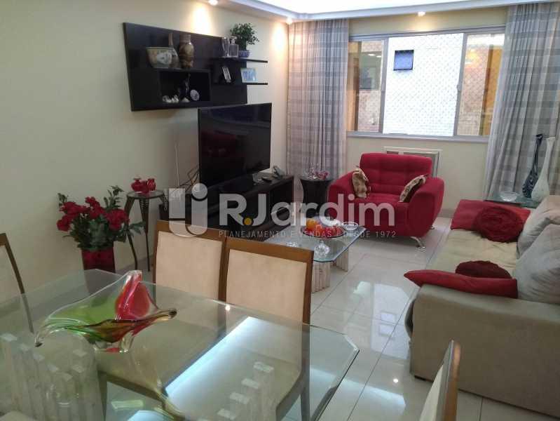 Sala - Apartamento À Venda - Lagoa - Rio de Janeiro - RJ - LAAP30643 - 3