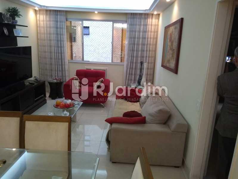 Sala - Apartamento À Venda - Lagoa - Rio de Janeiro - RJ - LAAP30643 - 5