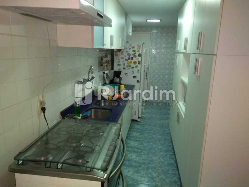 Cozinha - Apartamento À Venda - Lagoa - Rio de Janeiro - RJ - LAAP30643 - 24