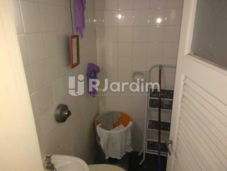 Banheiro de Serviço - Apartamento À Venda - Lagoa - Rio de Janeiro - RJ - LAAP30643 - 25