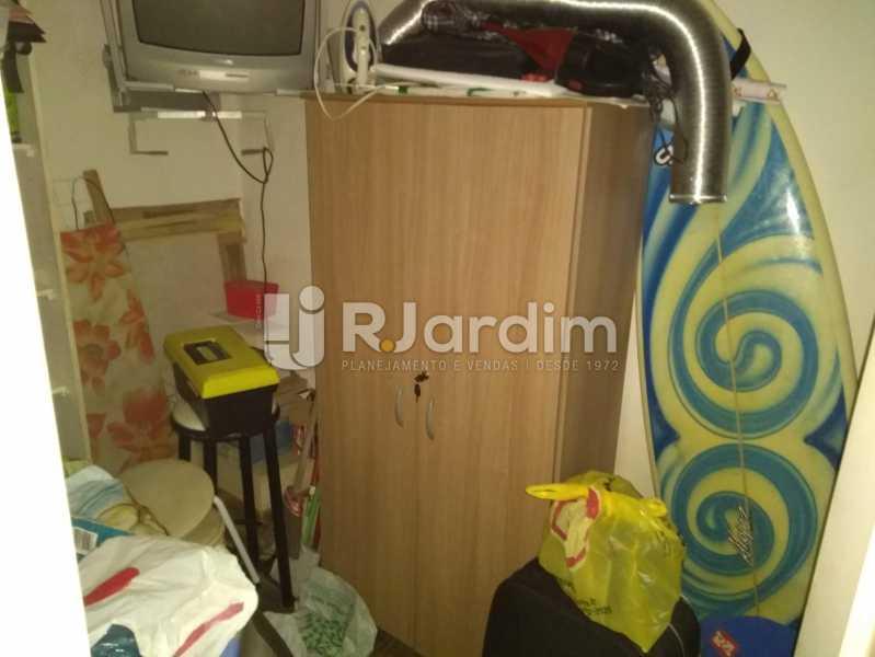 Quarto de Empregada - Apartamento À Venda - Lagoa - Rio de Janeiro - RJ - LAAP30643 - 26