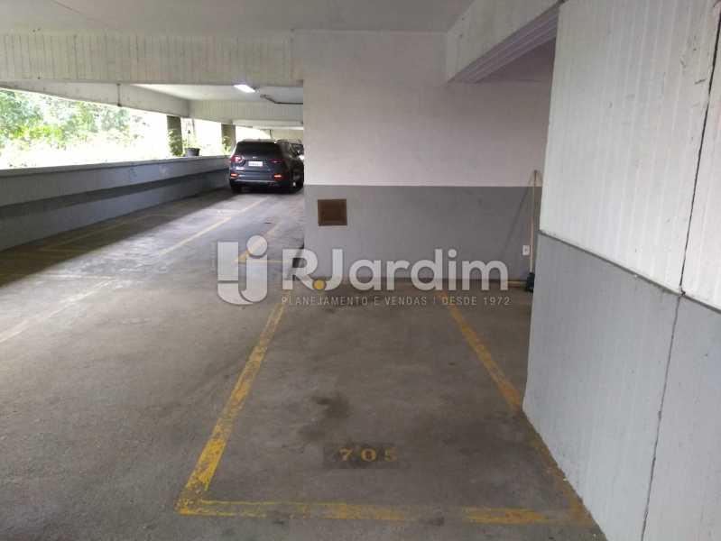 Vaga Demarcada - Apartamento À Venda - Lagoa - Rio de Janeiro - RJ - LAAP30643 - 30