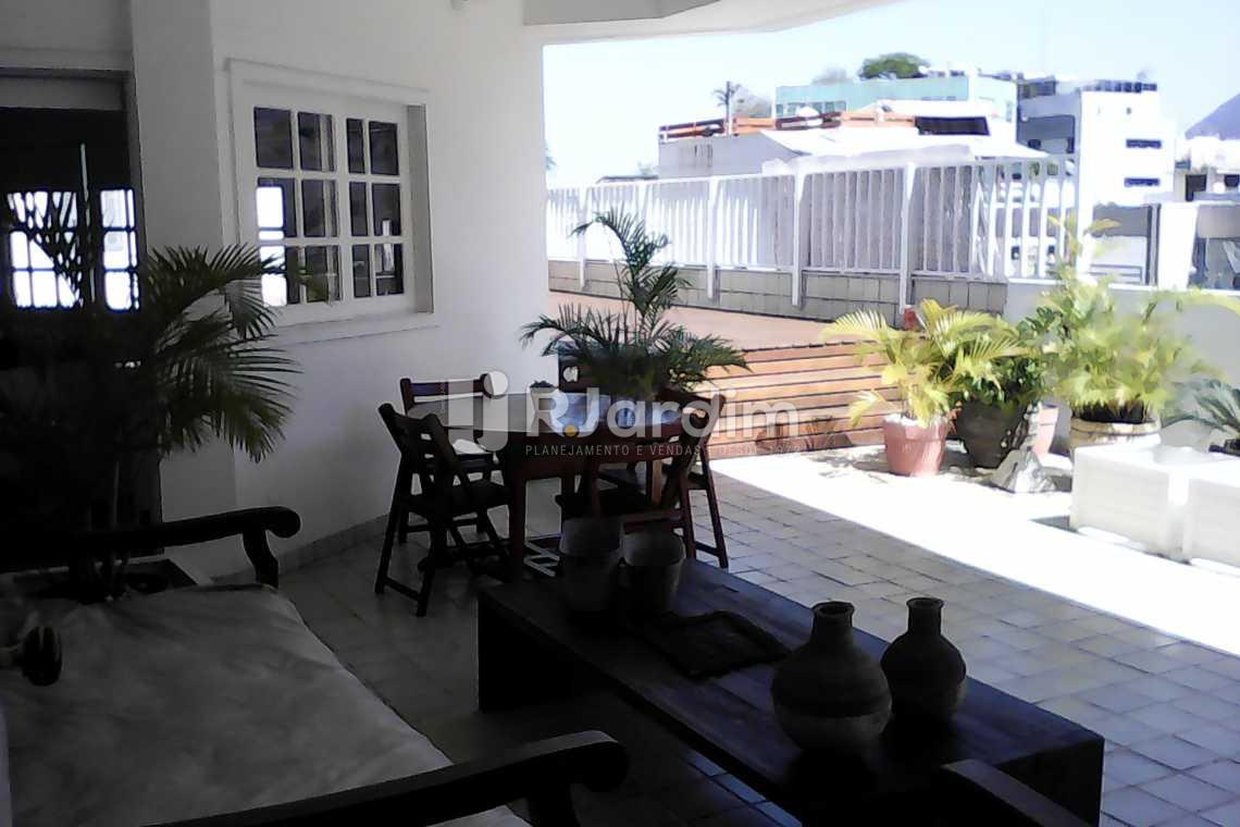 TERRAÇO - Compra Venda Cobertura Lagoa 4 Quartos - LACO40142 - 25