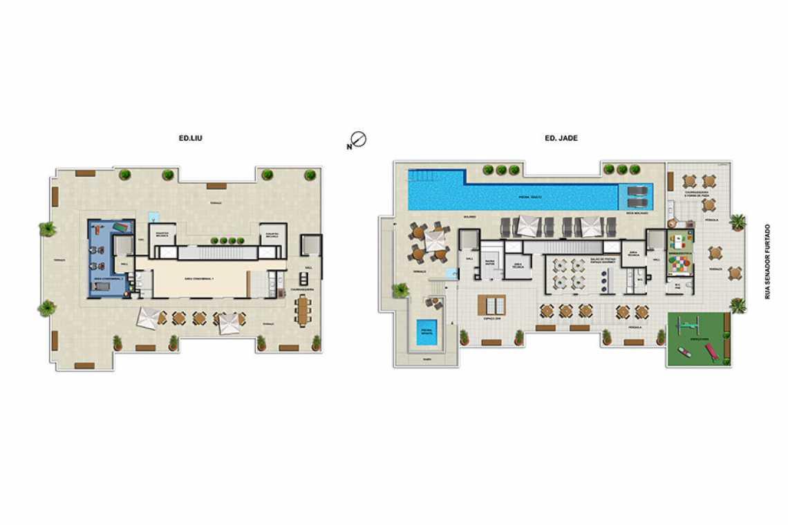 MASTERPLAN LAZER - Apartamento Maracanã, Zona Norte - Grande Tijuca,Rio de Janeiro, RJ À Venda, 2 Quartos, 70m² - LAAP20460 - 26