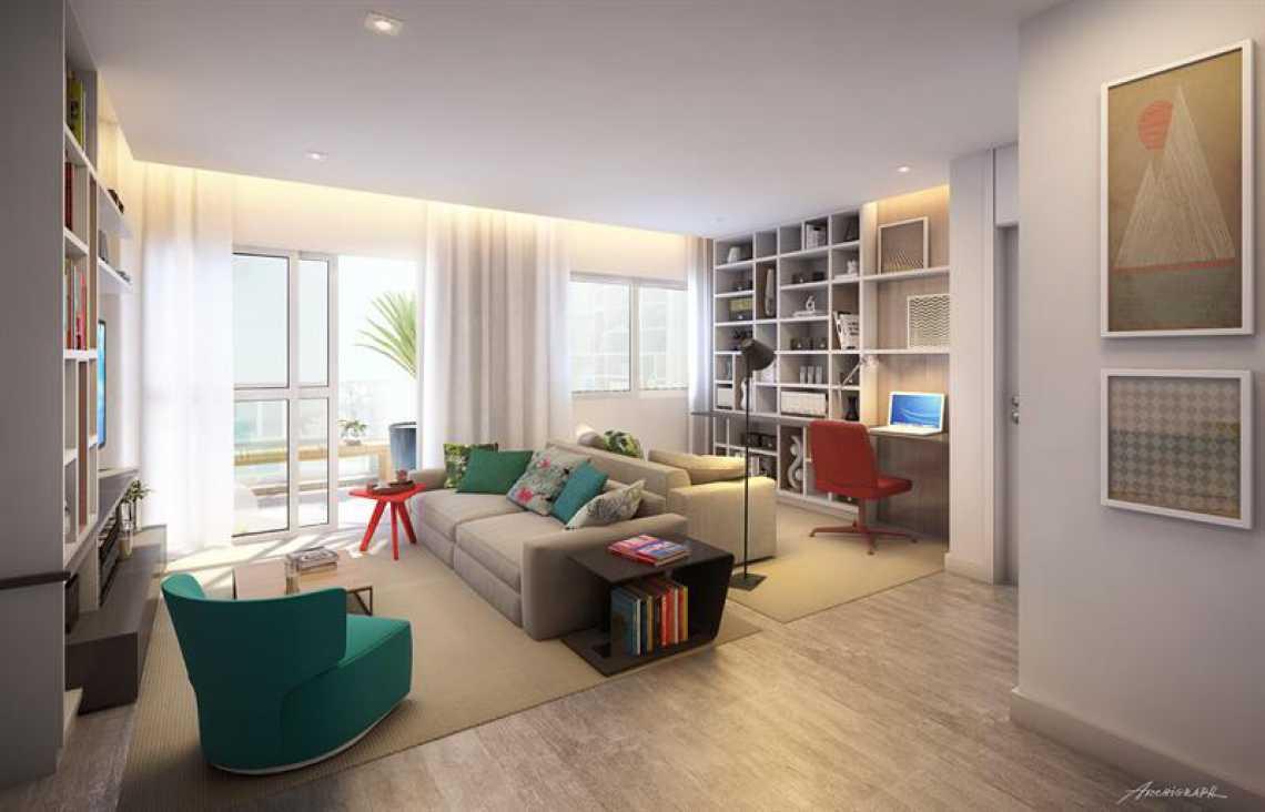 PERSPECTIVA SALA - Apartamento - Padrão / Residencial / Barra da Tijuca - LAAP10127 - 29