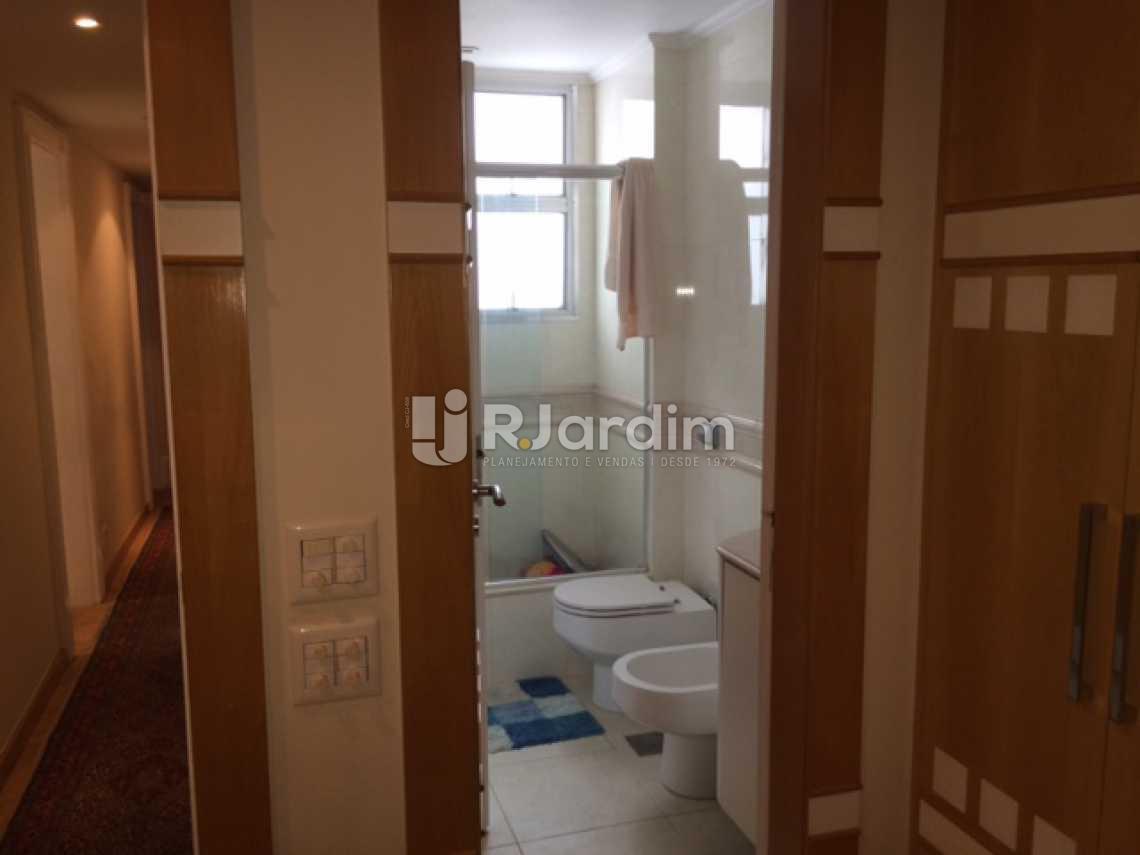 Banheiro suíte - Cobertura à venda Rua Redentor,Ipanema, Zona Sul,Rio de Janeiro - R$ 7.200.000 - LACO30096 - 12