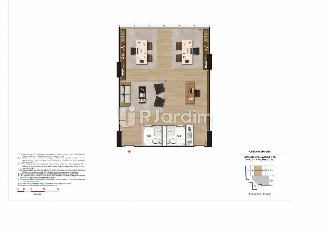 SALA DE 60,32M² JUN COLS 04 E - Loja Centro, Zona Central,Rio de Janeiro, RJ À Venda, 408m² - LALJ00142 - 14