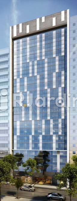 FACHADA DIURNA - Loja Centro, Zona Central,Rio de Janeiro, RJ À Venda, 408m² - LALJ00142 - 1