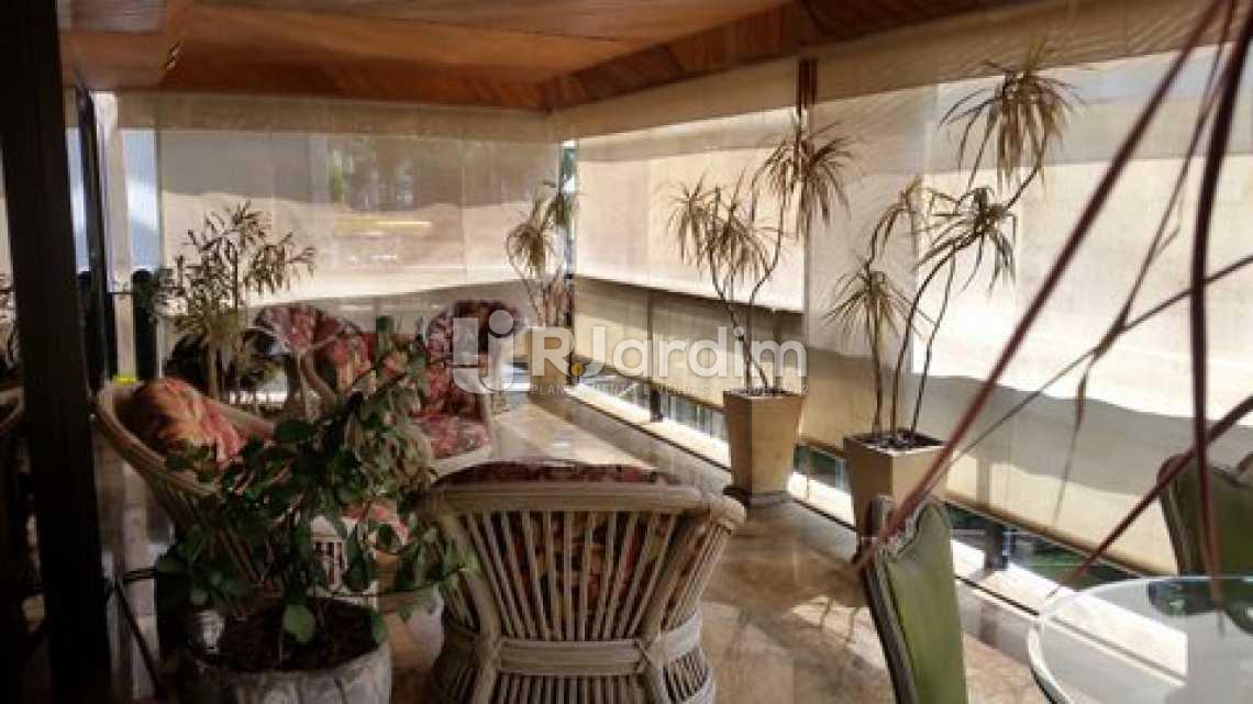 Varanda Frontal - Apartamento À Venda - Leblon - Rio de Janeiro - RJ - LAAP40320 - 1