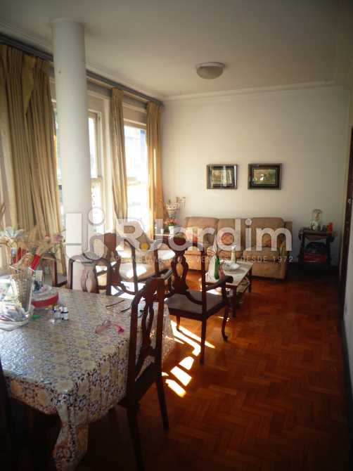 sala - Apartamento à venda Avenida General San Martin,Leblon, Zona Sul,Rio de Janeiro - R$ 2.360.000 - LAAP30712 - 1