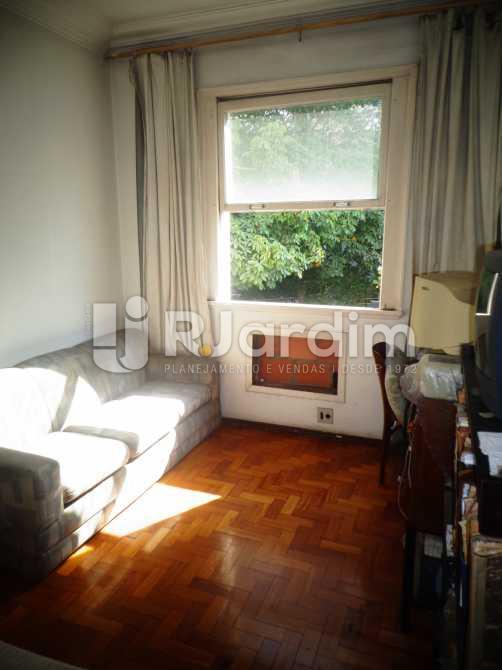 quarto 1 - Apartamento à venda Avenida General San Martin,Leblon, Zona Sul,Rio de Janeiro - R$ 2.360.000 - LAAP30712 - 8