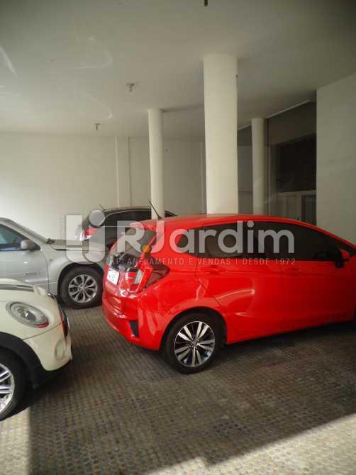 garagem - Apartamento à venda Avenida General San Martin,Leblon, Zona Sul,Rio de Janeiro - R$ 2.360.000 - LAAP30712 - 24
