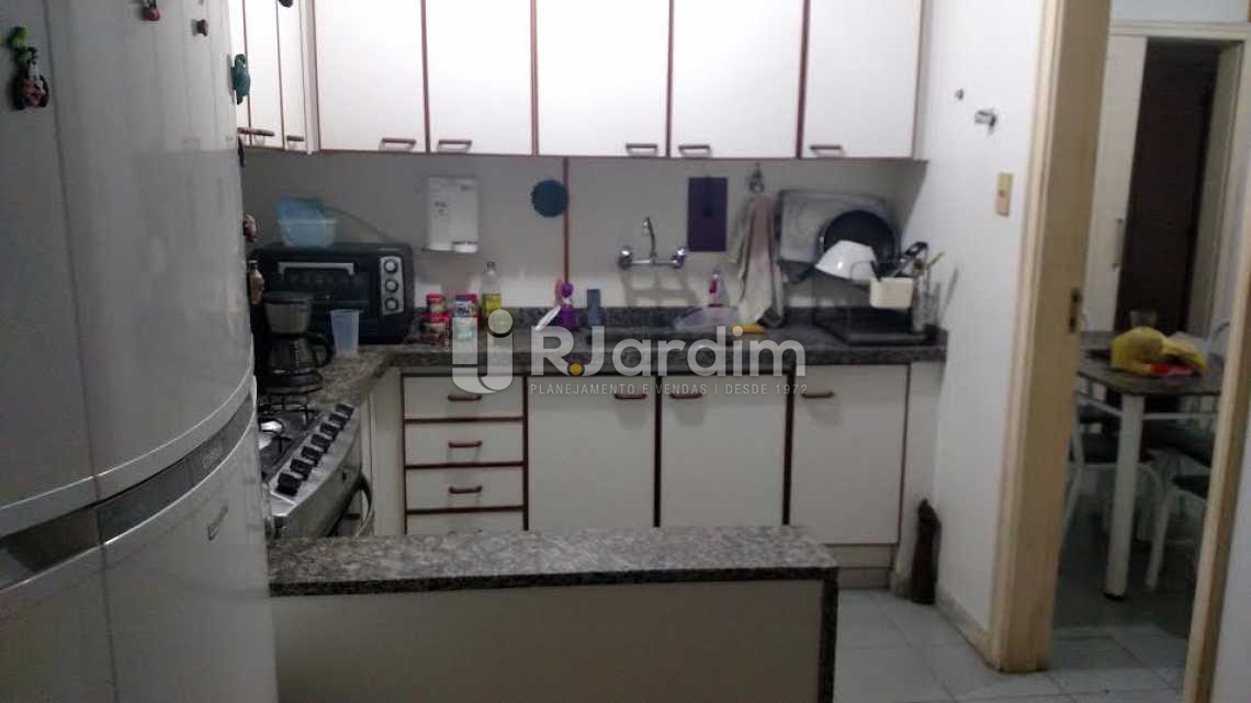cozinha - Apartamento à venda Rua Souza Lima,Copacabana, Zona Sul,Rio de Janeiro - R$ 1.690.000 - LAAP40328 - 19